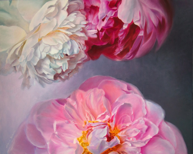 Clouds of Peonies Elena Valerie