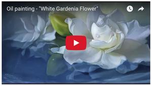 """YouTube video """"White Gardenia"""""""