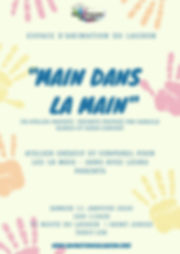 Colorful Hand prints Kids Quote Educatio