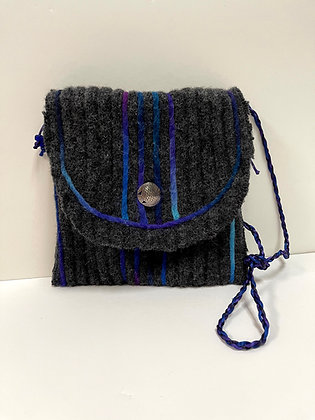 Lined Sweater Purse