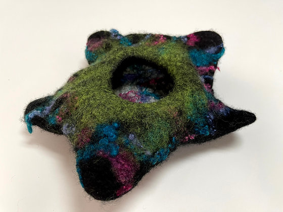 Star Vessel Hand Felted
