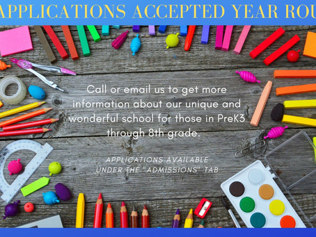 You can apply to MLA year-round.  We hope you will reach out to us!