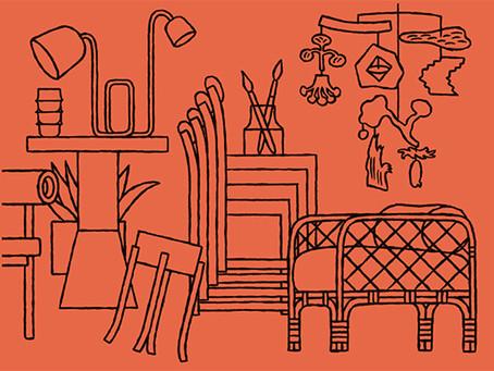 Designprocesser - suivre le processus créatif d'objets design de A à Z