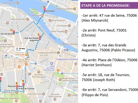 Promenade européenne et multilingue à Paris