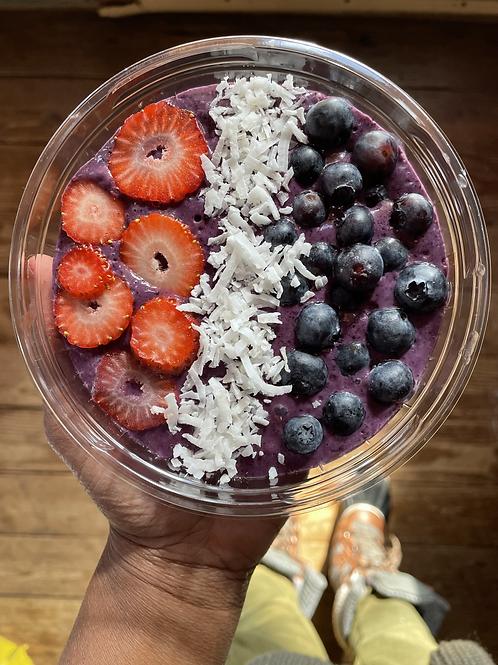 Acai Berry Protein Smoothie Bowl