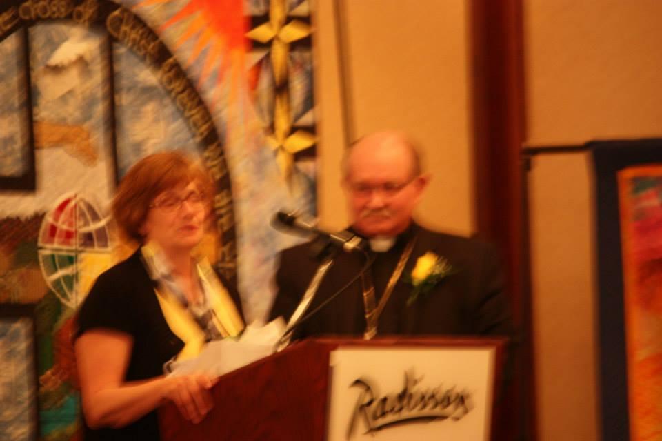 Banquet-Cheryl-Mader, VPres-Bishop