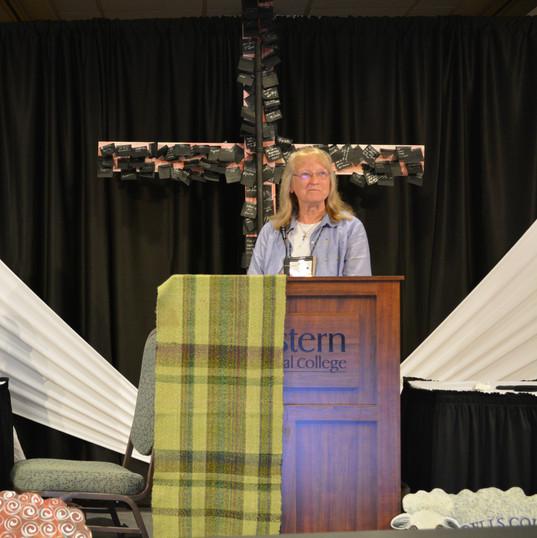 Linda D honoring Deb.JPG