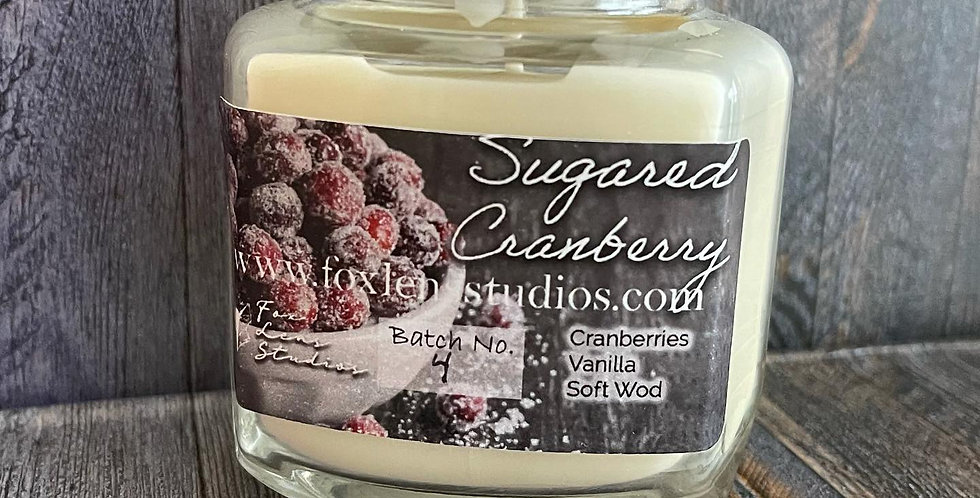 Sugared Cranberry