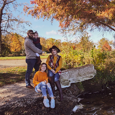 Kay Family in Fall