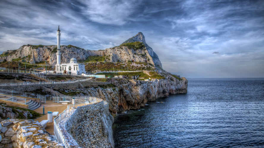 Gibraltar as Seen from Europa Point
