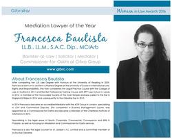 Francesca Women in Law