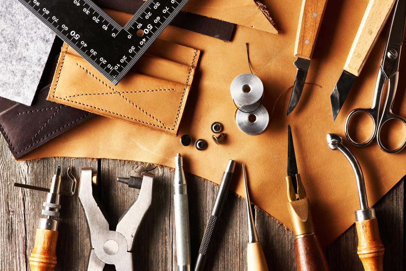 Leather Craftsmanship Tools