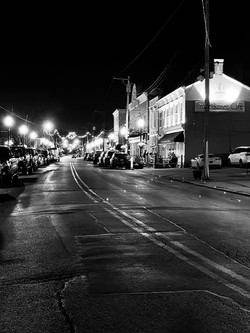 front street black and white