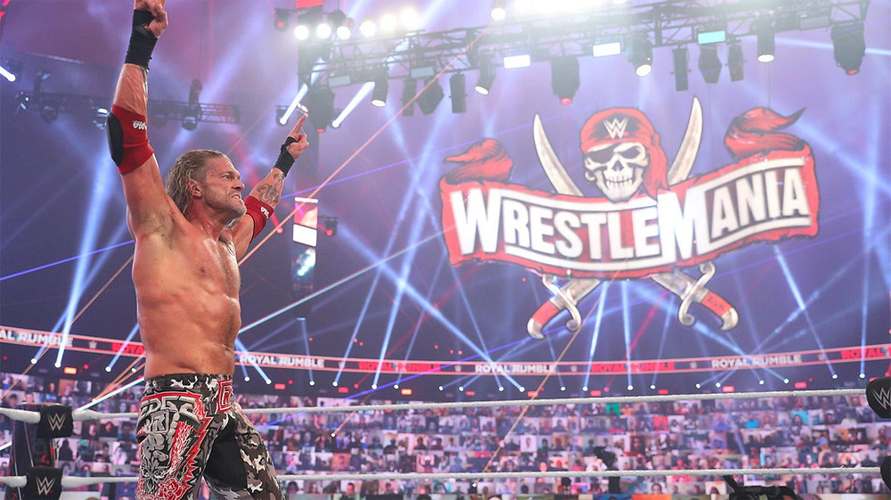 Edge Royal Rumble WWE