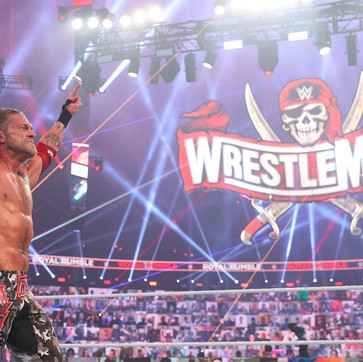 Edge Stuns Randy Orton To Win 2021 Royal Rumble