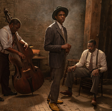FIRST LOOK: Chadwick Boseman, Viola Davis In Netflix's 'Ma Rainey's Black Bottom'