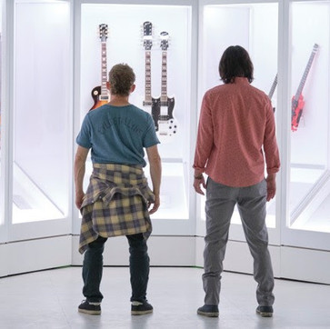 Gibson Guitars, 'Bill and Ted' Bring Music, Movies Together In Pop Culture Clash