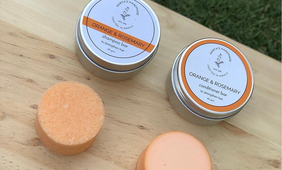 Orange & Rosemary Shampoo Bar