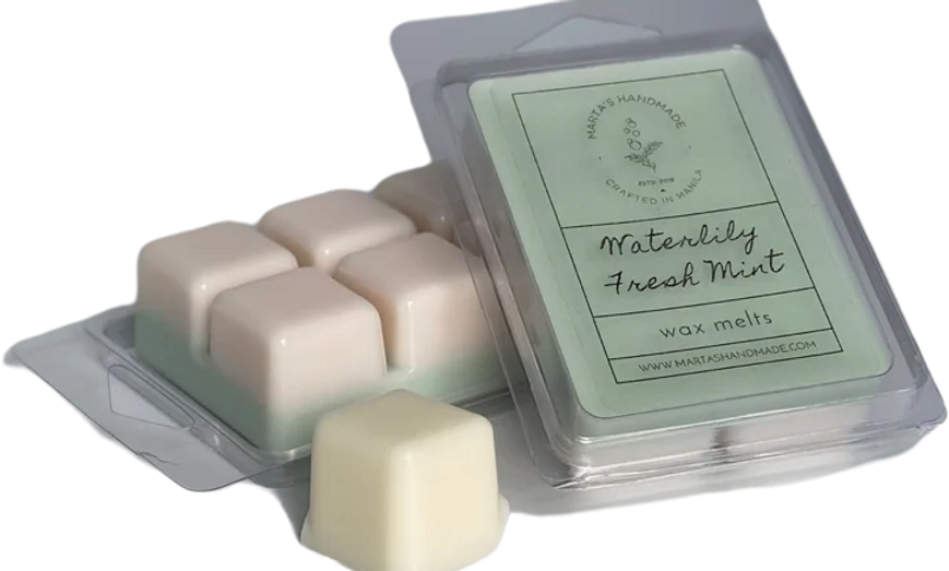 Waterlily Fresh Mint Wax Melts