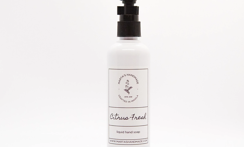 Citrus Fresh Liquid Soap