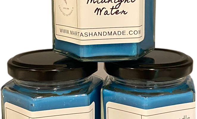 Midnight Water Soy Candle