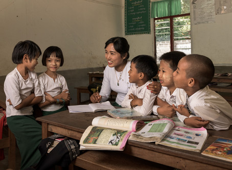 Travel Back in Time With Us to Our First School in Ata, Myanmar