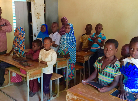 A Special School Project Takes Up the Combat of Illiteracy in Niger