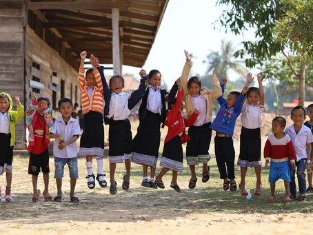 Official School Opening in Laos