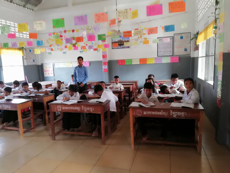 One Year Later: School in Cambodia in Balance Between Ludic Learning and Arousing School Classes