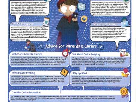 SIGNAL - What Parents & Carers Need to Know