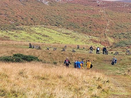 Stone Circle - Ringmoor Down