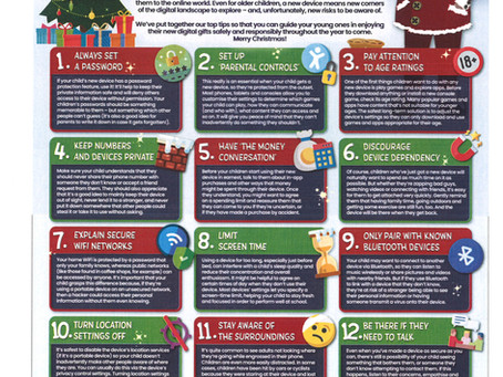 The 12 Online Safety Tips for Christmas