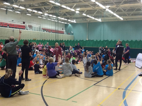 Paralympic event at The life centre