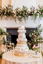 The Belvedere Ballroom Wedding Cake