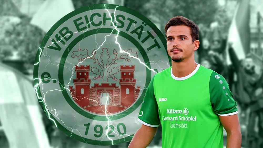 Dominik Wolfsteiner will seinen Vertrag beim VfB Eichstätt nicht erfüllen.