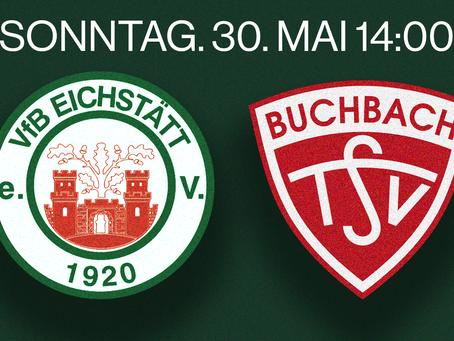 Eilmeldung! VfB gegen TSV Buchbach Am Sonntag um 14.00 Uhr