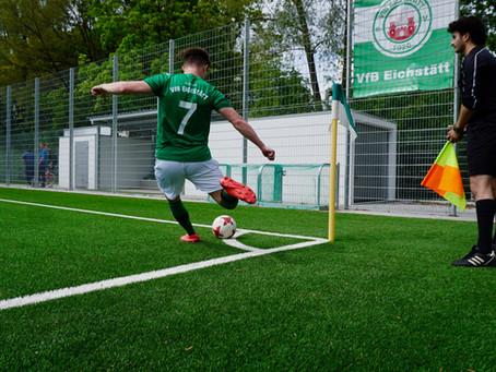 Ligapokal! Kunstrasenplatz! VfB II - SV Manching