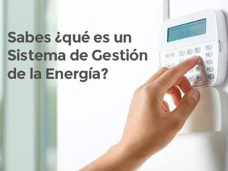 ¿Qué es un Sistema de Gestión de la Energía?