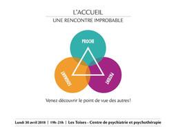 """LE TRIANGLE """"L'ACCUEIL, UNE RENCONTRE IMPROBABLE"""""""
