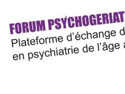 FORUM PSYCHOGÉRIATRIE FRIBOURG, 8 mars 2018