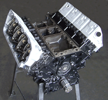 Reman 6.4-L PowerStroke Bare Longblock Engine
