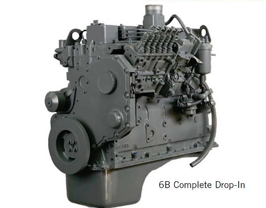 6B 5.9 CPL 1553 Drop-in Engine Bus