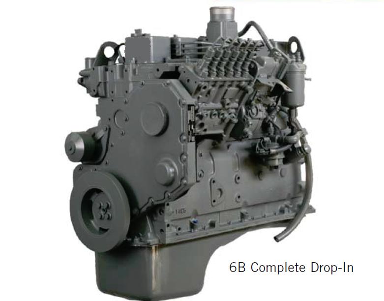 6B 5 9 CPL 1553 Drop-in Engine Bus | npddiesel