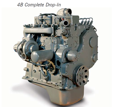 3.9L 4B Cummins Drop-in Engine CPL 594