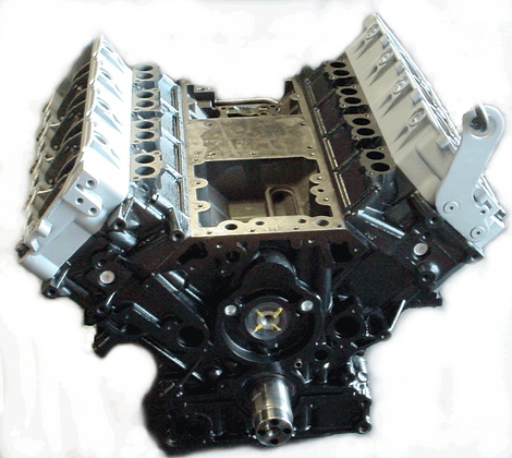 6.0 Liter PowerStroke Bare Longblock Engine