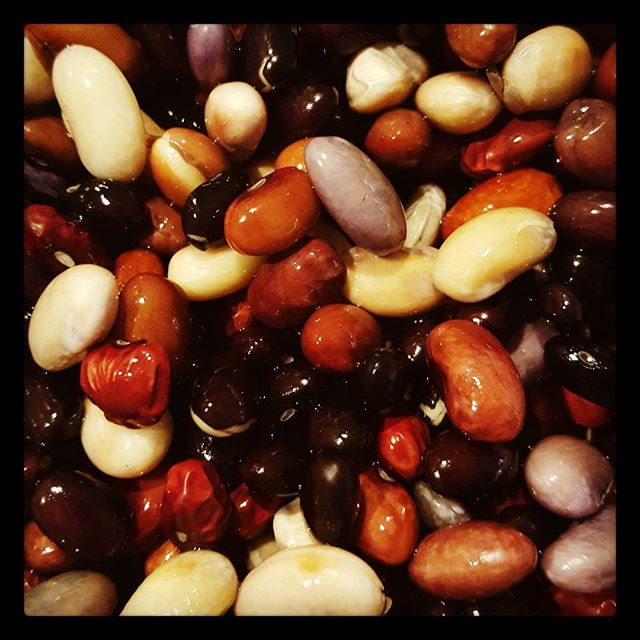 Beans are soaked and ready to become GA Brown Chili! No cans here! Cheers to prep Friday! See you at Sugar Hill tomorrow! #lowcomotionatl #f