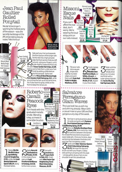 Look magazine: step by steps