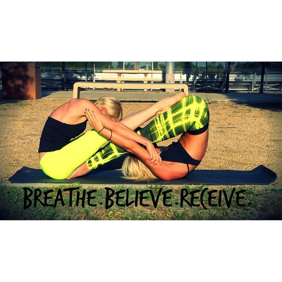 Breathe, Believe, Receive