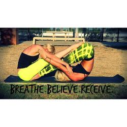 Breathe, Believe, Receive