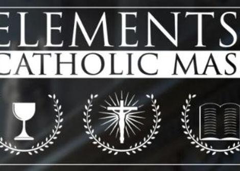 Elements of the Catholic Mass